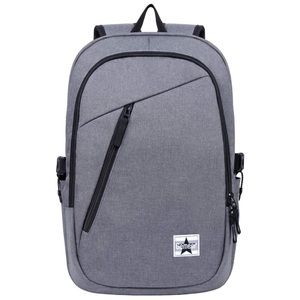 Handbags - Laptop Backpack Grey